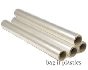 CLEAR DESIGN FLORIST CELLOPHANE FILM ROLLS / GIFT WRAP ROLL - 80cm 800mm WIDE